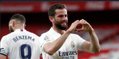 Hasil Liga Spanyol - Gol Pantulan Lutut Nacho Bikin Real Madrid Taklukkan Bilbao