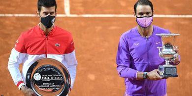 Kalahkan Djokovic, Nadal Raih La Decima Keempat pada Rome Masters 2021
