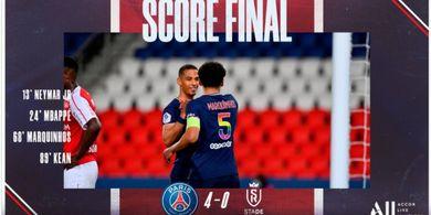 Hasil Liga Prancis - Lille Tersandung, PSG Bisa 2 Trofi dalam Seminggu