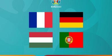 EURO 2020 - Dari Menit ke Menit Grup Neraka, Pindah Alam 13 dan 71 Menit, Portugal-Jerman Lolos Dramatis
