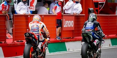 Bagaimana Fatwa Taktik Licik Marc Marquez di MotoGP? Begini Kata Murid Valentino Rossi