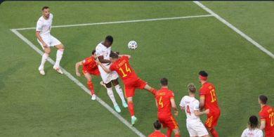 Hasil EURO 2020 - Wales dan Swiss Imbang berkat VAR, Serudukan Eks Incaran Man United Dibalas Sundulan Lagi
