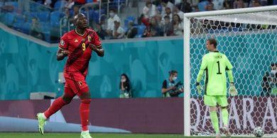 Cetak Gol untuk Timnas Belgia, Romelu Lukaku Teriakkan Nama Eriksen