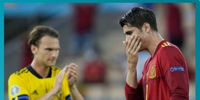Starting XI Slovakia vs Spanyol - La Furia Roja di Ujung Tanduk, Kambing Hitam Alvaro Morata Tetap Starter