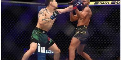 Berat Badan Kacau Balau, Dewa Perang UFC Minta Duel Trilogi