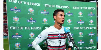 Cetak Rekor Lagi, Cristiano Ronaldo Jadi Manusia Pertama yang Berhasil Lakukan Ini