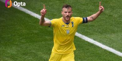 Man of The Match EURO 2020 - Andriy Yarmolenko, Winger Cadangan West Ham United yang Sejajar Legenda AC Milan