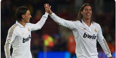 Reaksi Mesut Oezil dan Legenda Real Madrid soal Kepergian Sergio Ramos