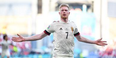 Hasil EURO 2020 - Kevin De Bruyne Gacor, Belgia Susul Italia Lolos ke Babak 16 Besar