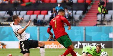 Bobol Jerman dengan Mudah, Cristiano Ronaldo Cetak Sejarah di EURO 2020