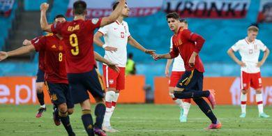 Spanyol Bisa Lolos Meski Imbang, Begini Skenario Nasib 4 Tim Grup E Euro 2020