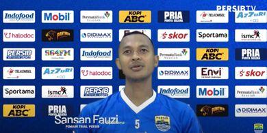 Persib Bandung Berikan Satu Pekan untuk Sansan Fauzi Trial