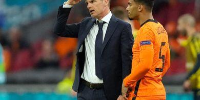 Babak 16 Besar EURO 2020 - Frank de Boer Tak Sabar Lakoni Laga Belanda vs Republik Ceska