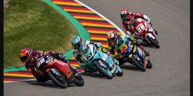 Moto3 Jerman 2021 - Reaksi Pembalap Indonesian Racing yang Batal Podium karena Penalti