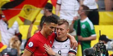 Ungkap Isi Obrolan dengan Cristiano Ronaldo, Toni Kroos Bahas Pemain Sangat Liar