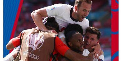 Sudah Lolos, Ini 3 Skenario Calon Lawan Inggris di 16 Besar Euro 2020