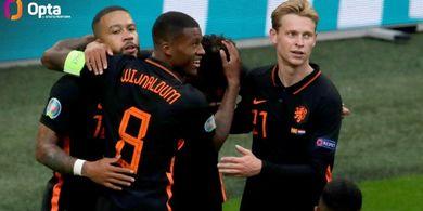 Rekor EURO 2020: 10 Laga Tak Pernah Seret Gol, Belanda Ngeri-ngeri Sedap