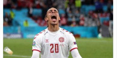 Hasil EURO 2020 - Meledak di Laga Terakhir, Denmark Hajar Rusia 4-1 dan Temani Belgia Lolos ke Fase Gugur
