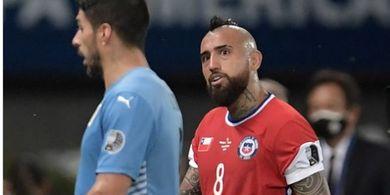 Hasil Copa America 2021 - Luis Suarez Cetak Gol Setengah, Uruguay Gagal Menang Lagi
