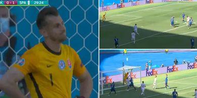 Gol Bunuh Diri Kiper Slovakia vs Spanyol, Disebut Jadi Gol Terkonyol Sepanjang Masa