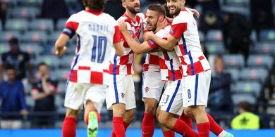 EURO 2020 - Sinyal Peringatan Timnas Kroasia untuk Timnas Spanyol