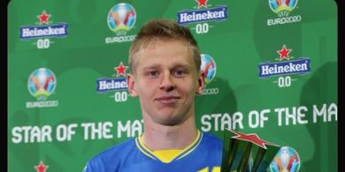 Man of The Match EURO 2020 - Oleksandr Zinchenko, Bek Sayap Manchester City yang Gendong Ukraina ke Perempat Final