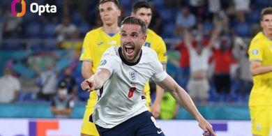EURO 2020 - Cetak Gol untuk Inggris Setelah 10 Tahun, Kapten Liverpool: Sudah Waktunya