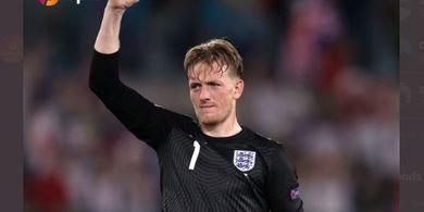 EURO 2020 - Kiper Inggris Nyaris Jadi Eksekutor Penalti, Kenapa Tak Jadi?