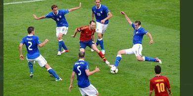 Jadwal Siaran Langsung Semifinal EURO 2020 - Live di Mola, Italia vs Spanyol, Dendam Pembantaian 2012