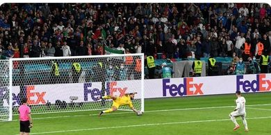Hasil Lengkap EURO 2020 - Donnarumma Balas Perbuatan Morata, Italia Butuh 2 Kemenangan Menuju Sejarah