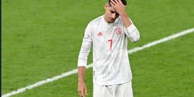 EURO 2020 - Spanyol Gugur, Alvaro Morata Ukir Rekor Langka Setara Cristiano Ronaldo