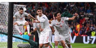 EURO 2020 - Gagal ke Final, Spanyol Pecahkan Rekor Gol saat Juara Piala Eropa 2008 dan 2012