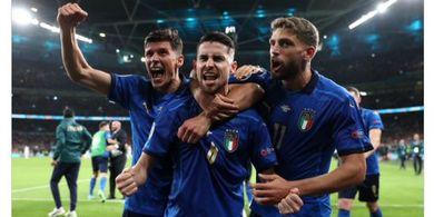 Hasil EURO 2020 - Italia Lolos ke Final Usai Tumbangkan Spanyol Lewat Adu Penalti