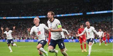 Hasil EURO 2020 - Sejarah Tercipta, Inggris Siram Dinamit Denmark, Jumpa Italia di Final