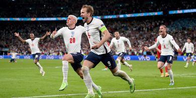 Final EURO 2020 - Tren Sejarah Tak Memihak Italia, Inggris Mungkin Menang jika Adu Penalti