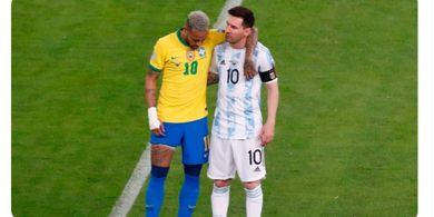Reaksi Neymar terhadap Berita Kepergian Lionel Messi dari Barcelona