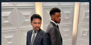 Monster Tinju Bukan Pilihan Utama, Manny Pacquiao Harusnya Lawan Mikey Garcia