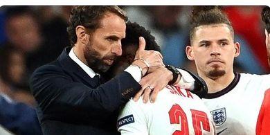 EURO 2020 - Tak Becus Kalahkan Italia, Inggris Terus Dihantui Kutukan Penalti