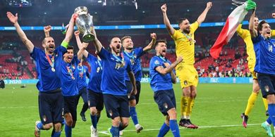 Italia Diklaim Juara EURO 2020 Tanpa Dukungan Penyerang, Kritik Ciro Immobile?