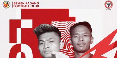 Pinjamkan 2 Pemain ke PSPS Riau, Begini Harapan Semen Padang FC