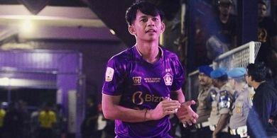 Sempat Hijrah ke Madura United dan Kembali Lagi ke Persik Kediri, Ini Alasan Risna Prahalabenta
