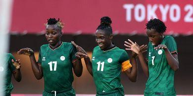 Olimpiade Tokyo 2020 - Matchday Kedua Sepak Bola Putri Panen 31 Gol, Pemain Kebanggaan Afrika Cetak Rekor Ketiga