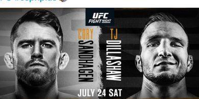 Jadwal UFC Vegas 32 - Kembalinya Mantan Raja Kelas Bantam ke Oktagon