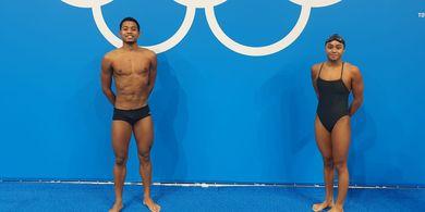 Hasil Renang Olimpiade Tokyo 2020 - Fadlan dan Azzah Tersisih pada Babak Penyisihan