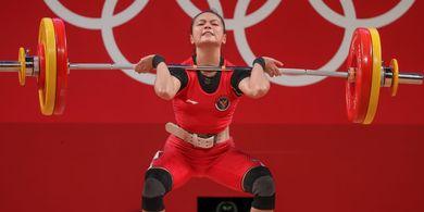 Olimpiade Tokyo 2020 - Lifter China Diperiksa, Winidy Cantika Bisa Raih Perak