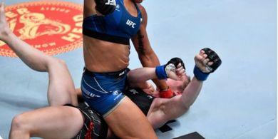 Hasil UFC Vegas 32 - Brutal Pol, Mata Lawan Dibikin Tutup Total