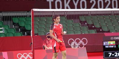 Olimpiade Tokyo 2020 - Gregoria Mariska Temui Intanon pada Babak 16 Besar
