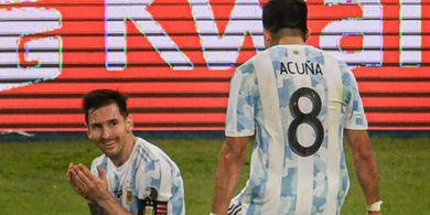 Fakta soal Video Call Lionel Messi di Tengah Lapangan