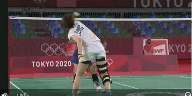 Olimpiade Tokyo 2020 - Sayaka Hirota Risikokan Masa Depannya, Paksa Berlaga dengan Penyangga Lutut yang Bikin Kaki Tak Bisa Lurus