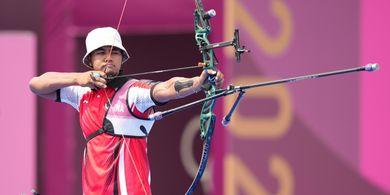 Olimpiade Tokyo 2020 - Meski Tersisih, Pepanah Alviyanto Bagas Petik Pengalaman Berharga